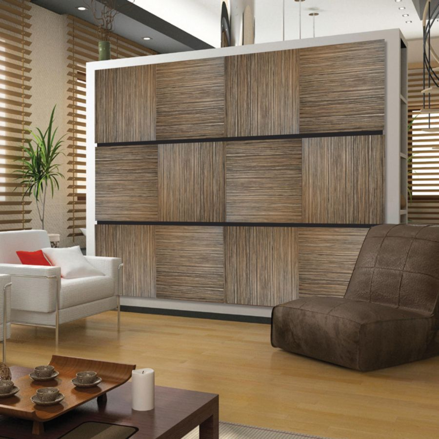 deflect o decorative wall panels zebrano - Decorative Wall Panels