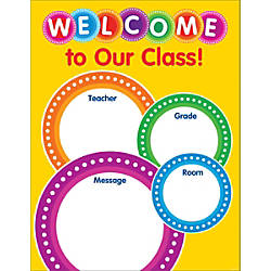 Color Your Classroom Chart Welcome 17
