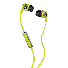 Skullcandy Smokin Buds Hot LimePurple