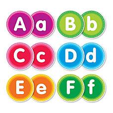 Color Your Classroom Alphabet Bulletin Board
