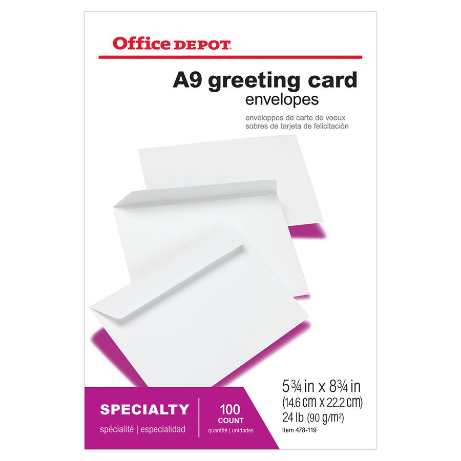 Lined Invitation Envelopes At Office Depot Officemax, Wedding Invitations
