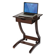 Realspace Coastal Ridge Laptop Cart 30