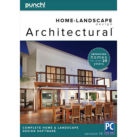 Punch architectural series 19 for pc download version by office depot officemax - Punch home design architectural series ...
