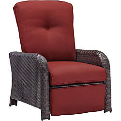 Hanover Strathmere Luxury Recliner in Crimson