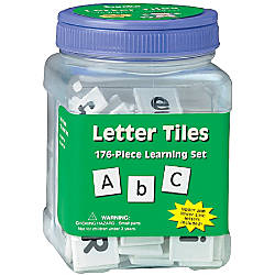 Eureka Learning Tool Tubs Letters Pack