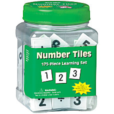 Eureka Learning Tool Tubs Number Tiles