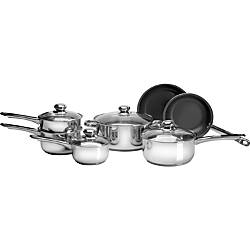 PURELIFE 11pc Stainless Steel Cookware Set