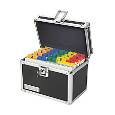 Vaultz Locking Index Card Box 4