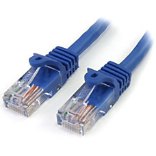 StarTechcom 12 ft Blue Snagless Cat5e