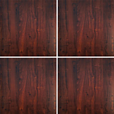 Deflect O Decorative Wall Panels Mahogany