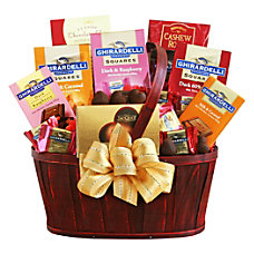 Givens Gift Basket Classic Ghirardelli 5