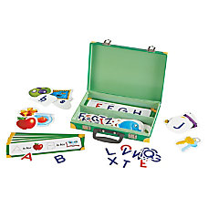 Learning Resources Alphabet Suitcase Activity Set