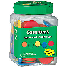 Eureka Learning Tool Tubs Counters Pack