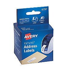 Avery Thermal Permanent Address Labels For