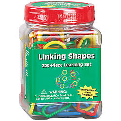 Eureka Learning Tool Tubs Linking Shapes