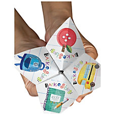 Creative Teaching Press Cootie Catchers Back
