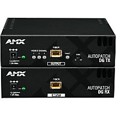 AMX AVB TX DVI FIBER Video