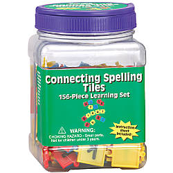 Eureka Learning Tool Tubs Connecting Spelling