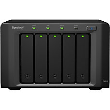 Synology DX513 5 x HDD Supported