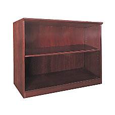 Mayline Group Corsica 2 Shelf Bookcase