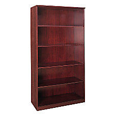 Mayline Group Corsica 5 Shelf Bookcase