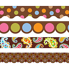 Creative Teaching Press Chocolate Border Pack