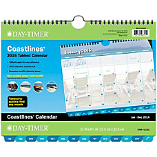 Day Timer Organization Centers Coastlines Wall