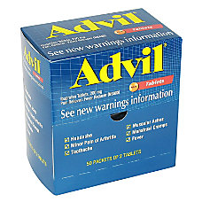 Advil Box Of 50