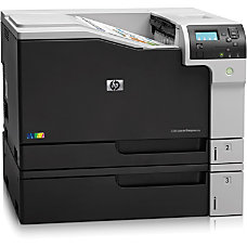 HP LaserJet M750N Laser Printer Color