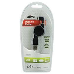 Ativa Micro USB 20 Cable Black