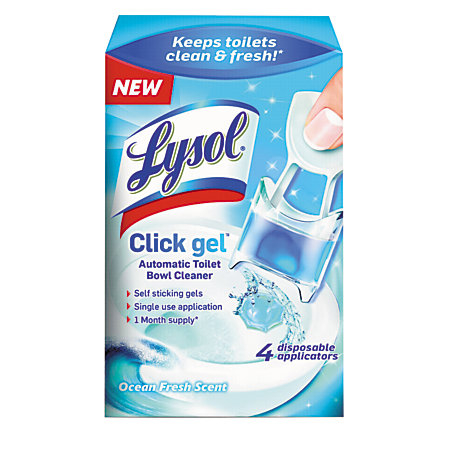Lysol Brand Click Gel Automatic Toilet Bowl Cleaner 0 17