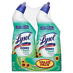 Lysol PowerFresh Toilet Cleaner Gel 019