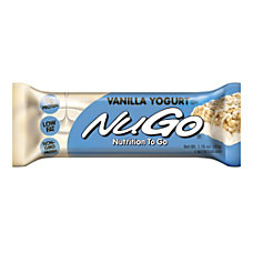 NuGo Vanilla Yogurt Bar 176 Oz