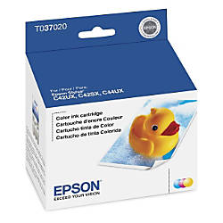 Epson® T0370 (T037020) Tricolor Ink Cartridge