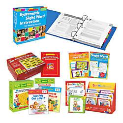 Scholastic Sight Word Instruction Bundle