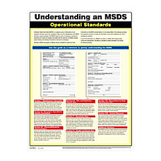 ComplyRight Understanding An MSDS Poster 18