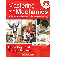 Scholastic Writing Mechanics Instruction 2 4