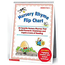 Scholastic Early Learning Flip Charts Bundle