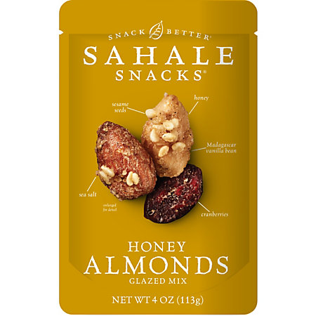 ... ® Glazed Nuts, Almonds With Cranberries Honey And Sea Salt, 4 Oz Bag
