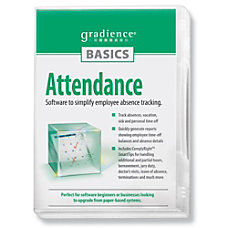 Gradience Attendance Software Traditional Disc