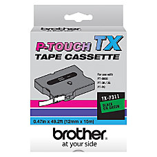 Brother P Touch TX Laminated Tapes