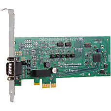 Brainboxes PCIe 1xRS422485 1MBaud Opto Isolated
