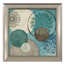 Timeless Frames Flora Mood II Framed