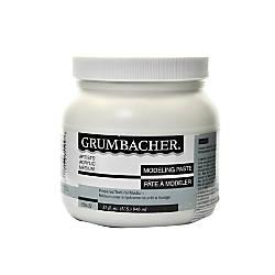 Grumbacher Modeling Paste 32 Oz