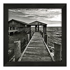 Timeless Frames White Boathouse Framed Art