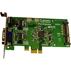 Brainboxes LP PCIe 1xRS232 POS 1A