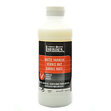 Liquitex Acrylic Permanent Matte Varnish 16