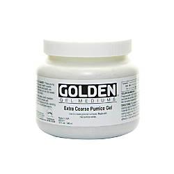 Golden Extra Coarse Pumice Gel 32