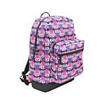 YakPak Vanderbilt Backpack Purple Love Owl