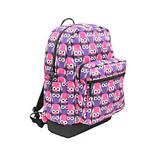 YakPak Vanderbilt Backpack Purple Love Owl
